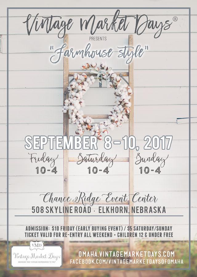 Events of Vintage Market Days in Omaha