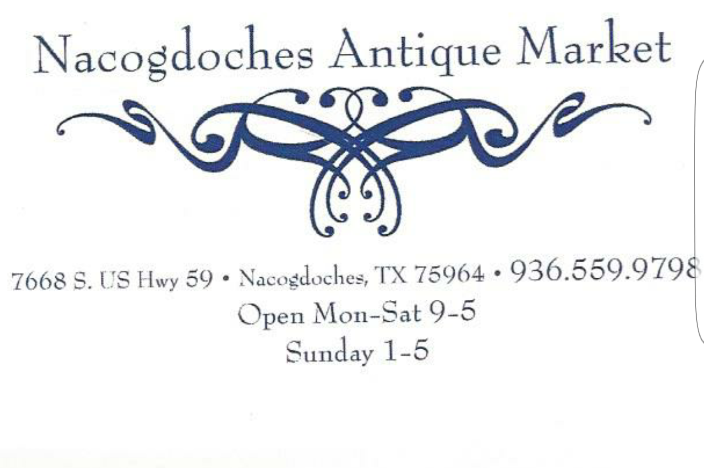 Nacogdoches Antique Market