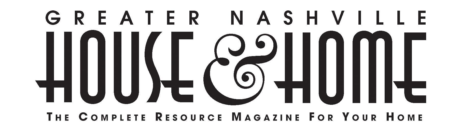 Nashville House Home and Garden Magazine