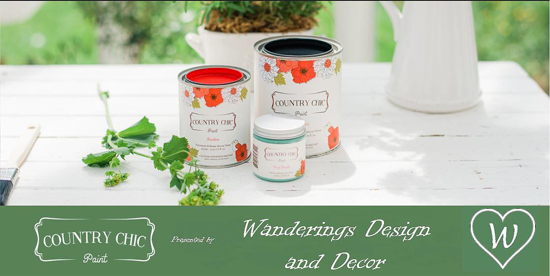 Country Chic Paint presented by Wanderings Design and Decor