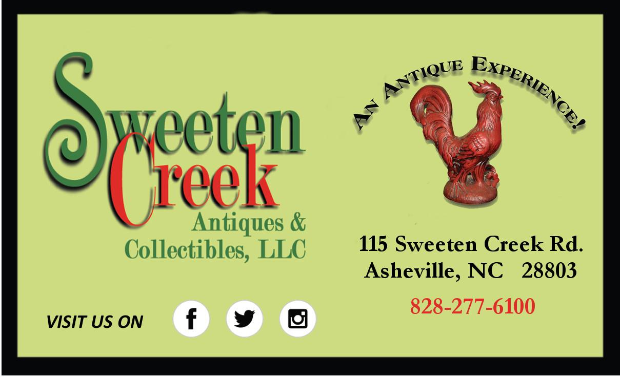Sweeten Creek Antiques & Collecibles,  LLC