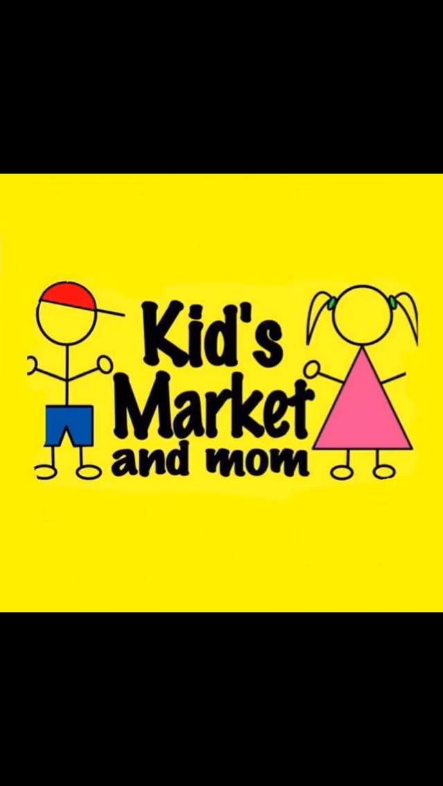 Kids Market and Mom